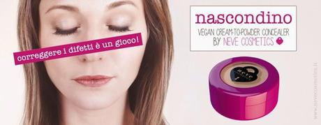 Preview NEVE COSMETICS: Nascondino, il correttore Cream-to-Powder