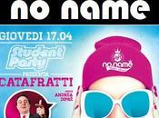 Giovedi' aprile 2014 Andrea Dipre' NoName Lonato (Bs) Student Party…