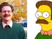 Sosia Simpson, come sarebbero personaggi nella realtà