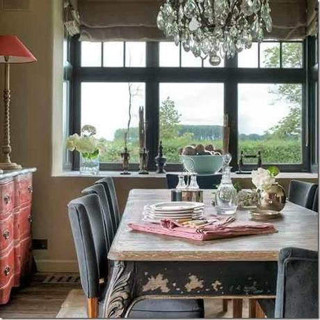 Country chic fiammingo paperblog for Case in stile ranch in stile log cabin