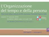 Primo incontro italiano sull'organizzazione degli spazi, tempo della persona