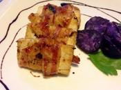 Tofu pancetta aceto balsamico