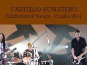 Soundgarden concerto luglio 2014 Castello Scaligero Villafranca, Verona.