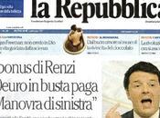 """""""leccaculismo"""" Repubblica verso Renzi livelli insopportabili"""