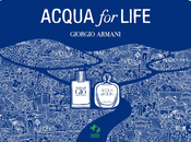 Giorgio Armani, Acqua Life Partnership with Green Cross International
