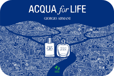 Giorgio Armani, Acqua For Life Partnership with Green Cross International