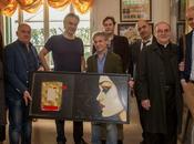 Andrea Bocelli ritira premio 'Toscana cultura della disabilità', opera Fabio Calvetti