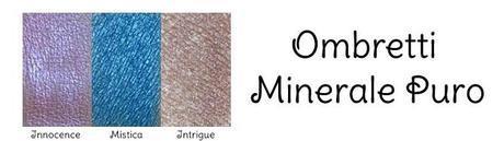 Ombretti minerali Review make up Minerale Puro,  foto (C) 2013 Biomakeup.it