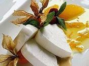 Parfait gelato all'Aurum salsa arance amare.