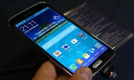 Galaxy S5 Prime version