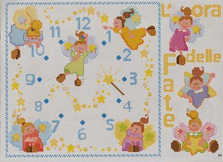 Schemi per il punto croce motivi per bambini a punto for Schemi a punto croce per bambini