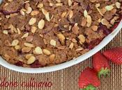 Crumble fragole