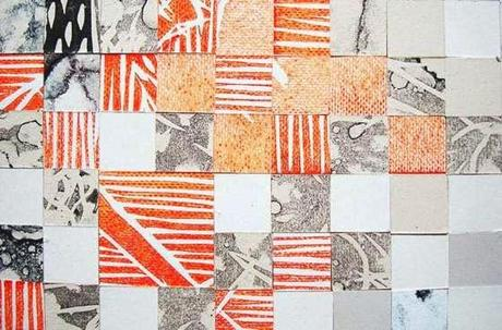 bellissime stampe astratte geometriche e simmetriche