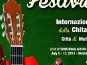 22th International Guitar Festival Competition Mottola Italy 5th/13th July 2014