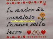 Auguri mamma punto croce- cross stitch- free patterns matematicaecucina