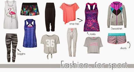 [PERSONAL SHOPPER] Fashion.. for sport!