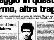 Omicido Montana: morte funerali Salvatore Marino