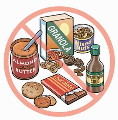 Symptoms nut allergies adults