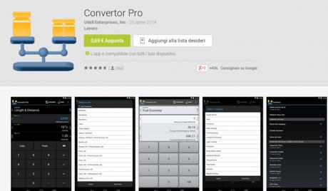 Convertor Pro App Android su Google Play 600x350 Convertor Pro gratis su Amazon App Shop applicazioni  amazon app shop