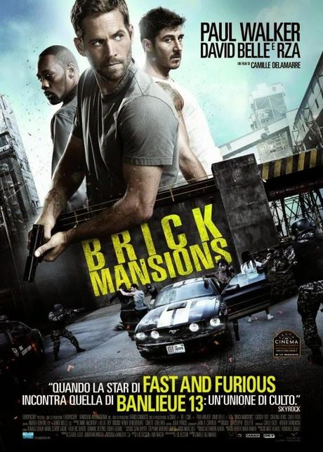 Brick Mansions, è il nuovo Film con Paul Walker