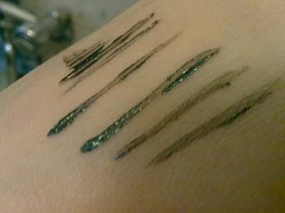 Astra Colour Perfect Liner-  Metallic Green
