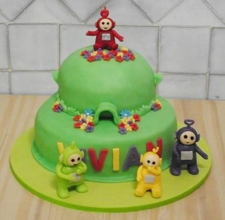 торт с телепузиками фото