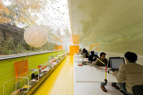 Uffici nella natura/Offices in the landscape