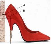 Come si misura l'altezza del Tacco? ^_^