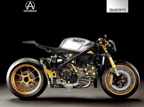 Ducati 1098 Project Cafe Fighter