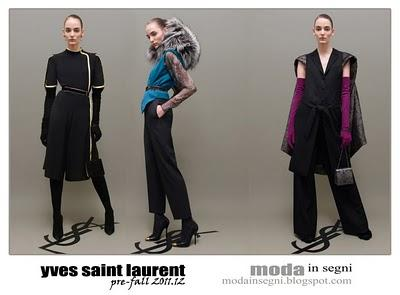 YVES SAINT LAURENT PRE-FALL 2011.12