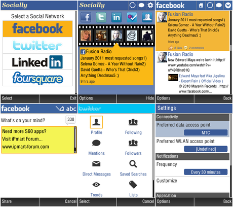 Socially v3.02 beta – new restyling