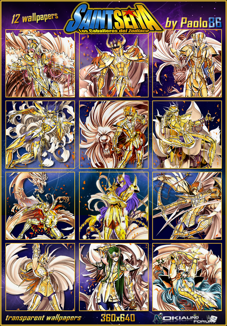 Saint Seiya (transparent walls) by Paolo86