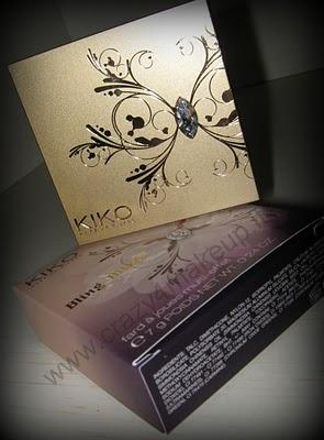 Review:Kiko Bling Blush 02 Celebrity Rose (Siberian Flower Collection)