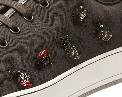 Scarafaggi sulle scarpe... dappertutto! Beetles everywhere on my shoes!