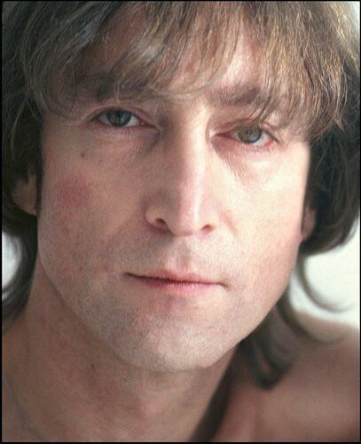 John Lennon 1980 photo by Allan Tannenbaum
