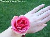 braccialetto primavera fiori freschi
