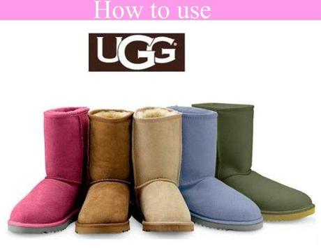 How to use - UGGS