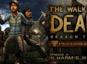 L'episodio Walking Dead: Season avvicina