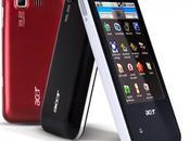 Acer E400 beTouch Smartphone Android Scheda caratteristiche tecniche.