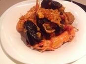Paella carne pesce