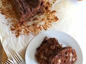 Torta morbida cioccolato, pere cannella