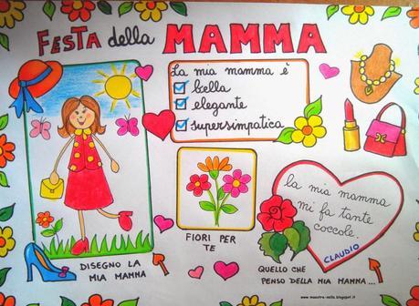 Festa Della Mamma Idee Per Lavoretti Paperblog