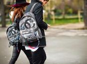 Avvistamenti marziani: Chanel zaino graffiti