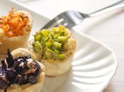 Mini bicchierini pasta brisée verdure: veggie finger food