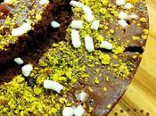 Ciambella cacao, pistacchi fondente
