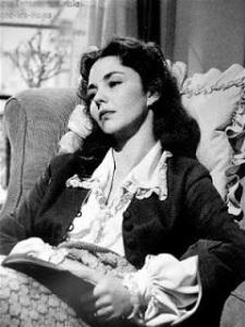 Jennifer Jones in una scena del film Madame Bovary (1949) di Vincente Minnelli