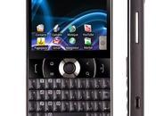 Acer E130 beTouch device Android Donut schermo touch Scheda caratteristiche tecniche principali.