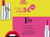 Coupon Sconto rossetto Lipstick Pupa