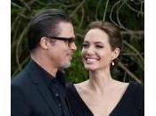 Angelina Jolie abito nero carpet Maleficent: Brad FOTO