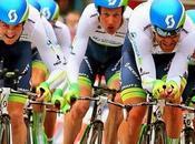 Giro d'Italia 2014: l'Orica vince cronosquadre, Tuft prima maglia rosa